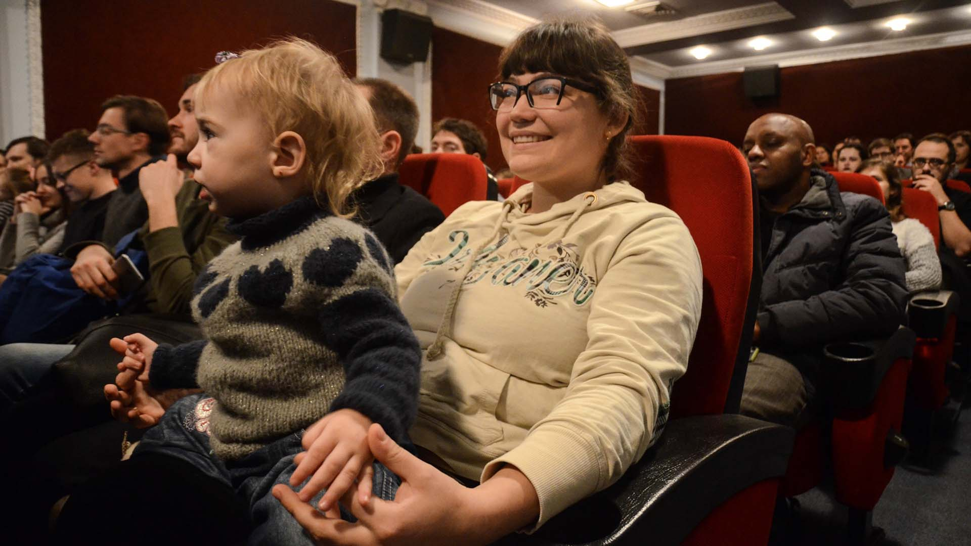 More than 100 people attended the charity premiere of Looks Like Home